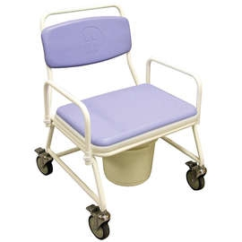 Bariatric Mobile Commode Chair