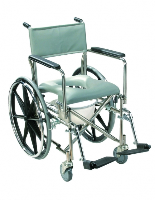Stainless Steel Shower Chair/Commode