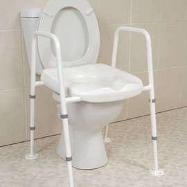 Mowbray Toilet Seat & Frame Floor Fixed