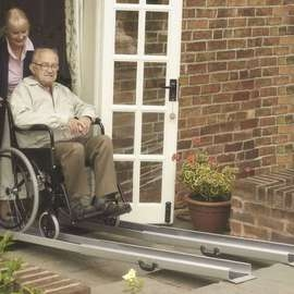Mobility Care® Telescopic Channel Ramp - Pair
