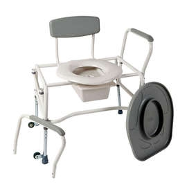 Commode Removable Arms