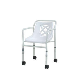 Height Adjustable Economy Mobile Shower Chair