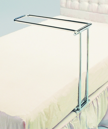 Folding Bed Cradle in Chrome