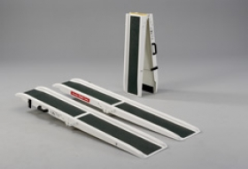 Glass Fibre Folding Channel Ramp