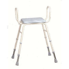 PU Moulded Perching Stool (with Arms)