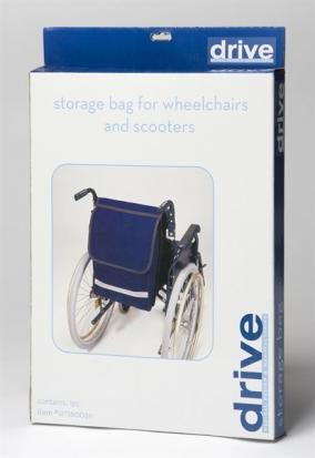 Wheelchair seat bag