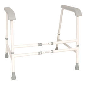 Nuvo Width Adjustable Free Standing Toilet Frame