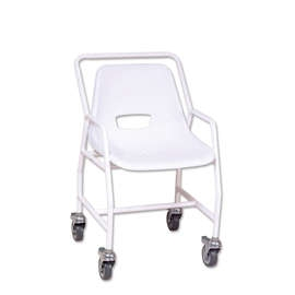 Fixed Height Mobile Shower Chair