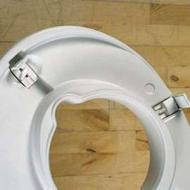 Melton Raised Toilet Seat