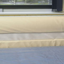 2 Bar Bumpers For Wooden Rails With Nets - Set