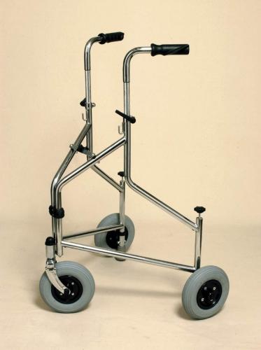 Folding 3 Wheel Walker with Pushdown Brakes