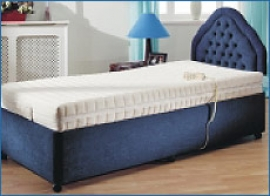 York Electrically Adjustable Bed and Mattress