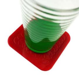 Tenura® Antimicrobial Coaster Square Pack of 4