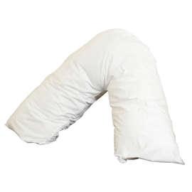 Polycotton V Shaped Pillow Case