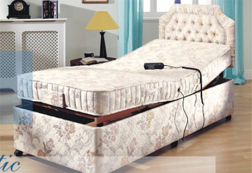 Harrogate Electrically Adjustable Bed and Mattress