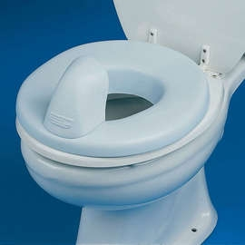 Padded Toilet Seat & Ring Reducer