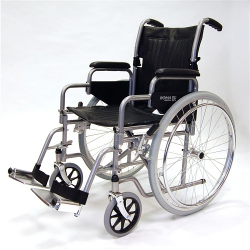 Self Propel Wheelschair with Detachable Arm Rests