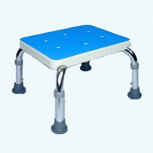 Aluminium Shower Stool/Bath Step
