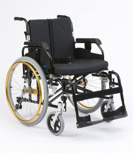 Super Deluxe Wheelchair with Elevating Leg Rest