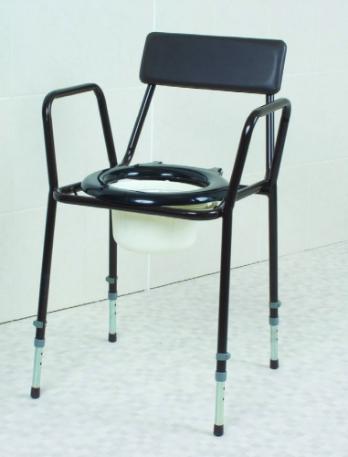 Economy Commode Height Adjustable