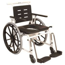 Combi Commode Self Propelled Shower Chair