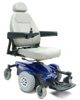 Pride Jazzy Select 6 Powerchair Indoor and Outdoors