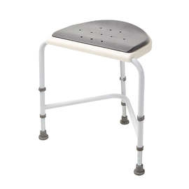 Nuvo Corner Shower Stool with Padded Seat