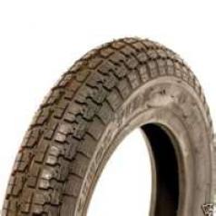 410/350 x 6 C/S Black Block Tyre