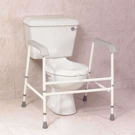 Nuvo Floor Fixed Toilet Frame - Extra Wide