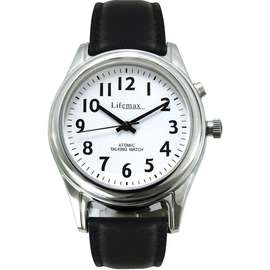 Radio Controlled Ladies Talking Watch with Leather Strap