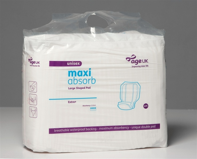 Maxi Absorb Large Shaped Pads Unisex