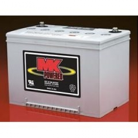 1 Pair MK SLA 12 Volt 55Amp/Hour GEL Batteries