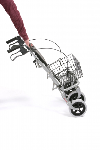 Migo Steel Rollator with Basket and Tray