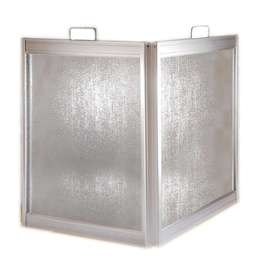 Portable Shower Screen - Metallique