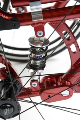 K Wheelchair with suspension