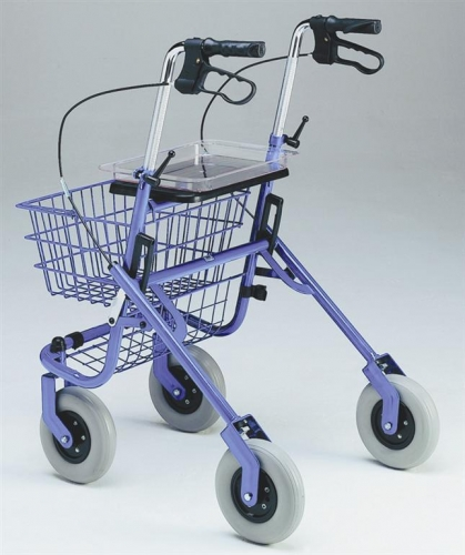 Safety Walker 4 Wheel Rollator