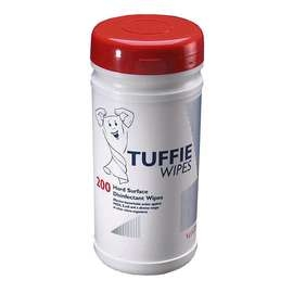 Tuffie Disinfectant Wipes - Tub of 200