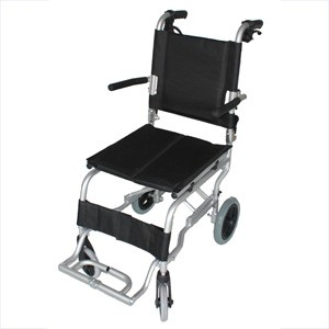 Folding Aluminium Travel Wheelchair in a Bag