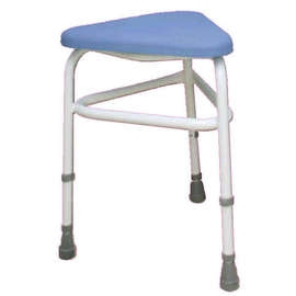 PU Padded Corner Shower Stool