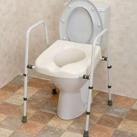Mowbray Lite Toilet Frame & Seat - Width Adjustable
