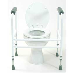 Bariatric Adjustable Toilet Surround