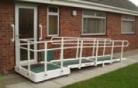 Glass Fibre Height Adjustable Platform