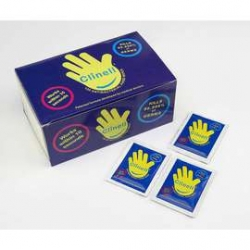 Clinell® Antibacterial Hand Wipes - Pack of 100