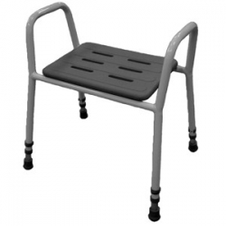 Aluminium Shower Stool with Arms