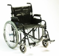 Bariatric Steel Wheelchair 22