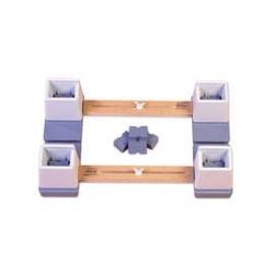 Adjustable Bed Raisers - Pair
